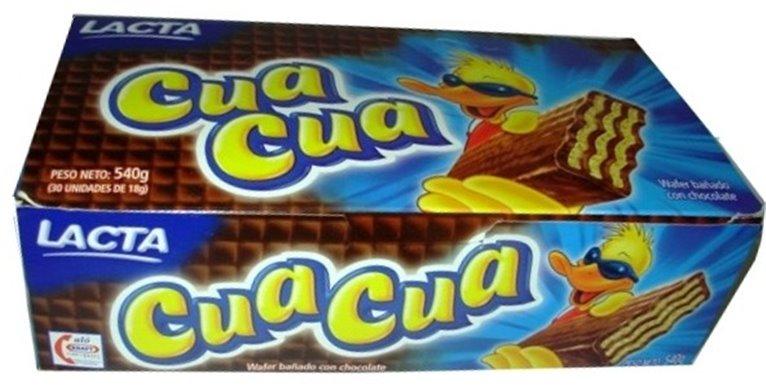 CHOCOLATE CUA CUA 30 UNIDADES