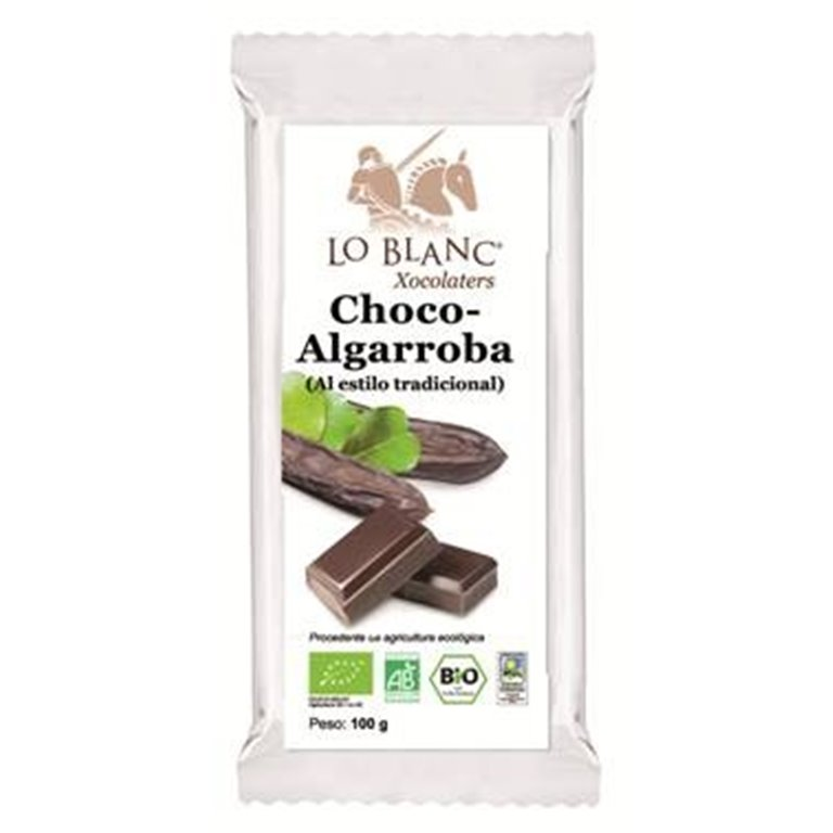 Chocolate de Algarroba Bio 100g