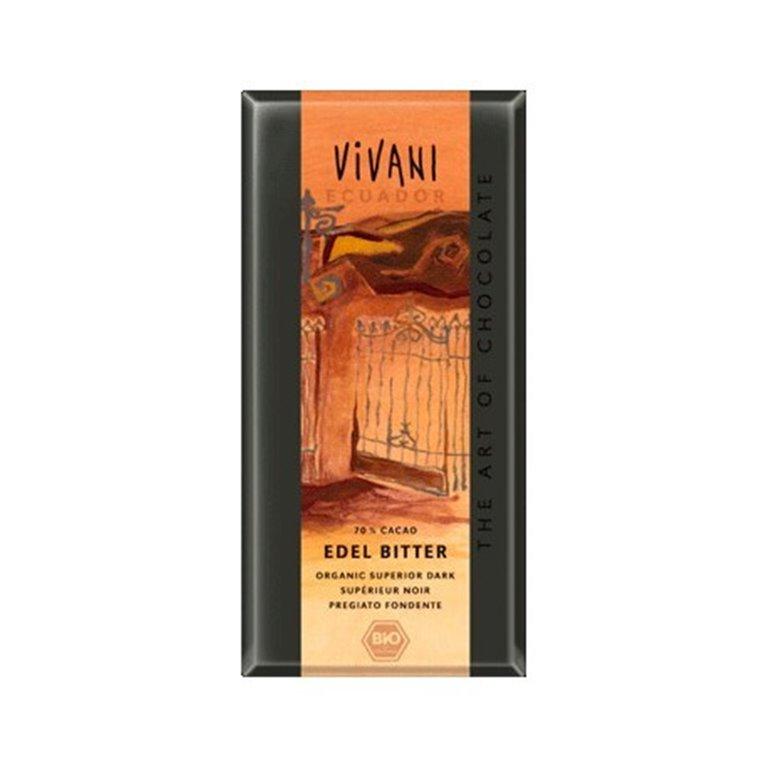 Chocolate Ecuador 70% Cacao Veg
