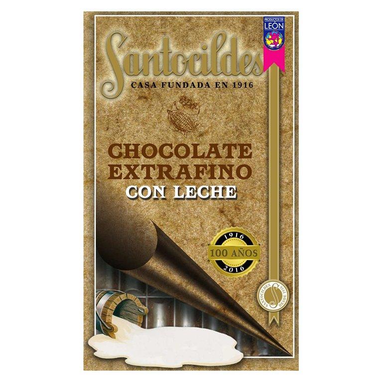 Chocolate Extrafino con Leche 200 grs SANTOCILDES