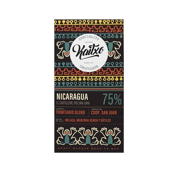 Chocolate Kaitxo 75% Nicaragua Bean To bar 70gr.
