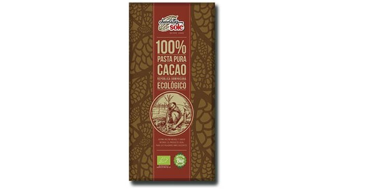 Chocolate negro 100% cacao - Chocolates solé