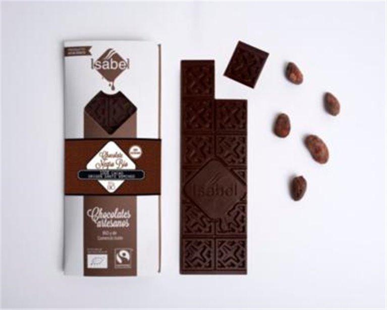 Chocolate negro 100% Isabel, 1 ud