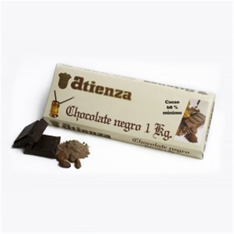 Chocolate negro 1Kg Atienza