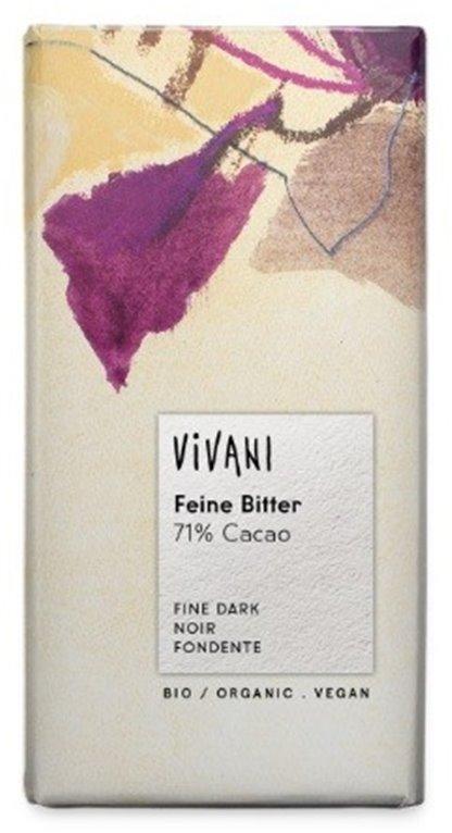Chocolate Negro (71% Cacao) Bio 100g