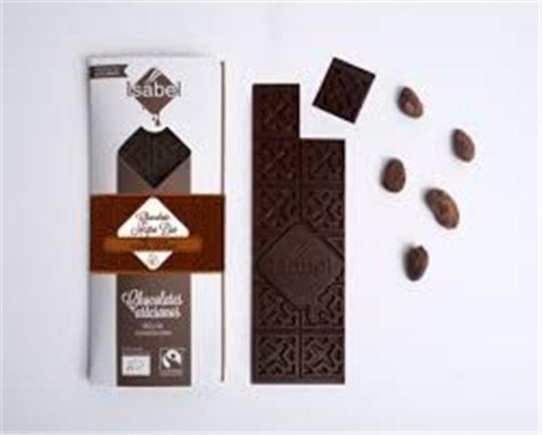 Chocolate negro 73% origen Ecuador Isabel