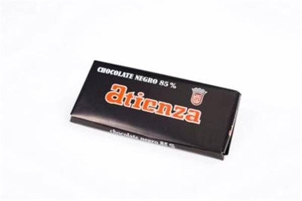 Chocolate negro 85% Atienza