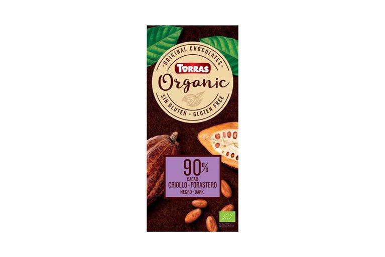 Chocolate negro 90% cacao - Torras