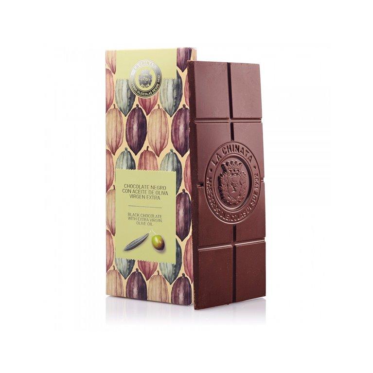 Chocolate negro con AOVE