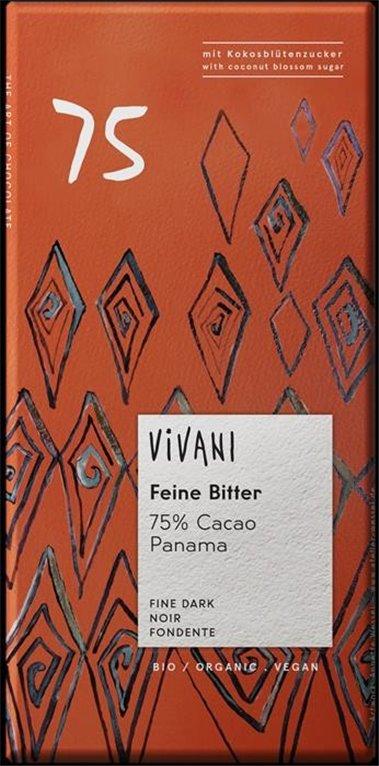 Chocolate Negro con Azúcar de Coco Bio 80g, 1 ud