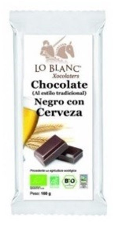 Chocolate Negro con Cerveza Bio Fairtrade 100g