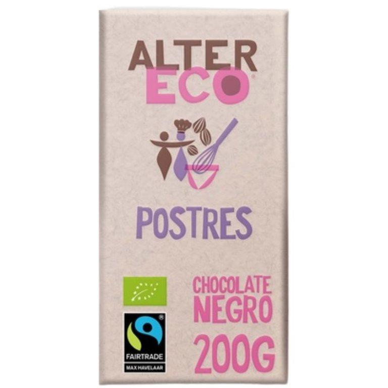Chocolate Negro para Postres Bio Fairtrade 200g