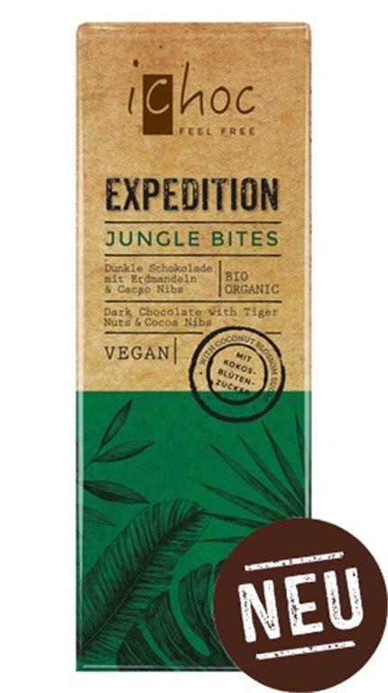 Chocolate negro pepitas cacao vegan, 50 gr