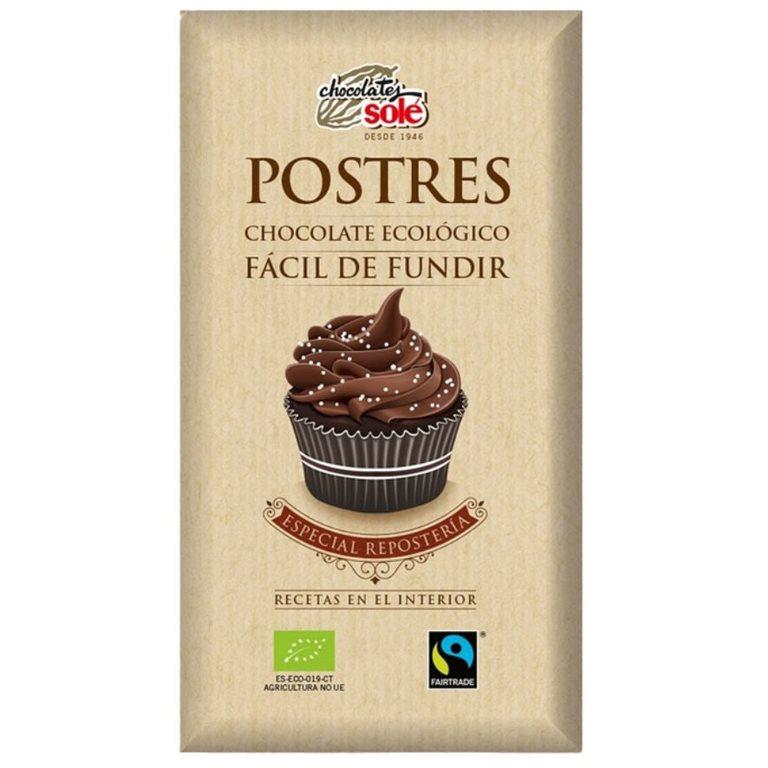 Chocolate para Fundir Especial Repostería Bio Fairtrade 200g