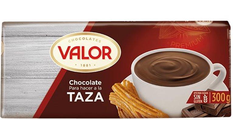 Valor - Chocolate para hacer a la taza (sin gluten)