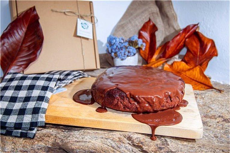 Tarta de Chocolate con Cobertura - 1000
