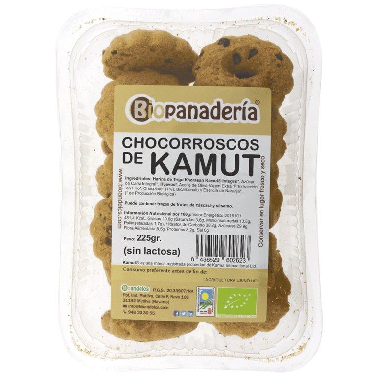 Chocorroscos de Trigo Khorasan Kamut® Integral, 1 ud
