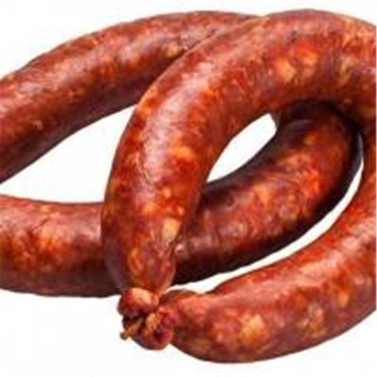 Homemade Iberian Chorizo Acorn-fed Iberian Sausage