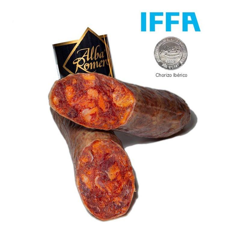 Chorizo cular Ibérico Bellota 100% Alba Romero