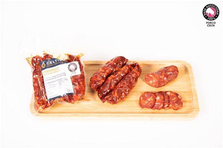 Chorizo Curado Dulce Ahumado (250 gr)