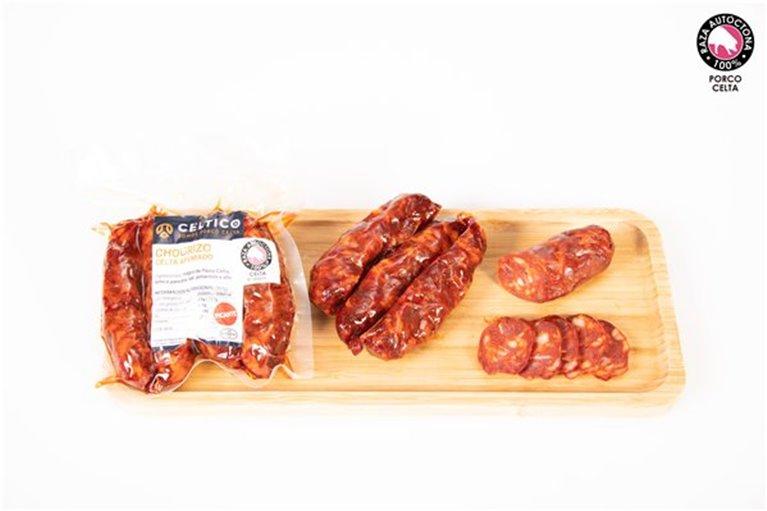 Chorizo Curado Picante Ahumado (250 gr)