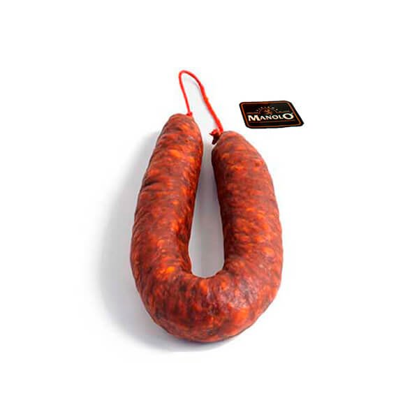 Chorizo de León picante calidad EXTRA
