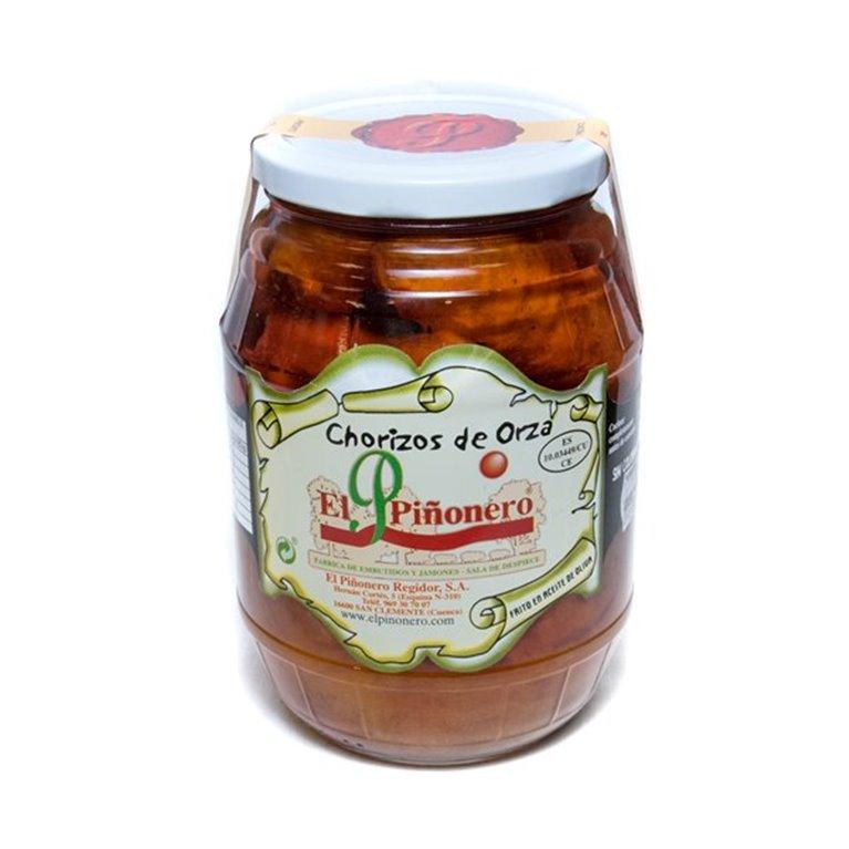 Chorizo de Orza en aceite de oliva, 1 ud