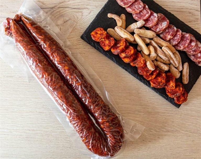 Chorizo dulce artesano de Rioja 400-500gr.