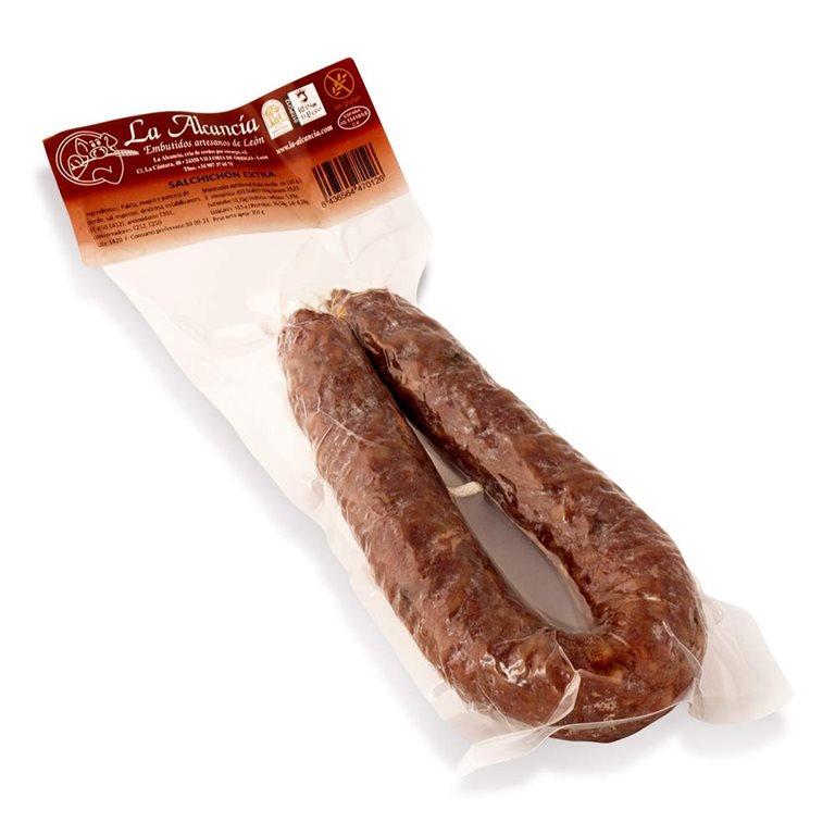 Chorizo extra 350 gr(aprox) LA ALCANCIA- AGOTADO--