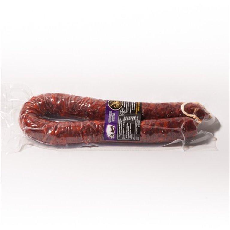 Chorizo extra dulce y picante 500 gr(aprox) LOS REJOS