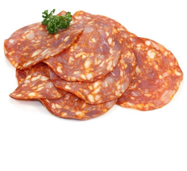 Chorizo Extra PICANTE Ecológico, 100 gr