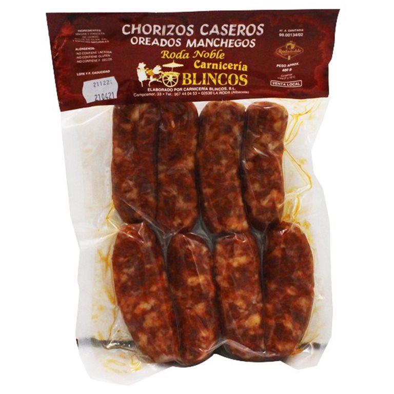 Chorizo Fresco Casero Medio kilo