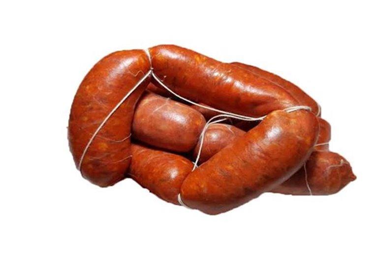 Chorizo fresco de matanza (sin gluten ni lactosa, 440 gr aprox)