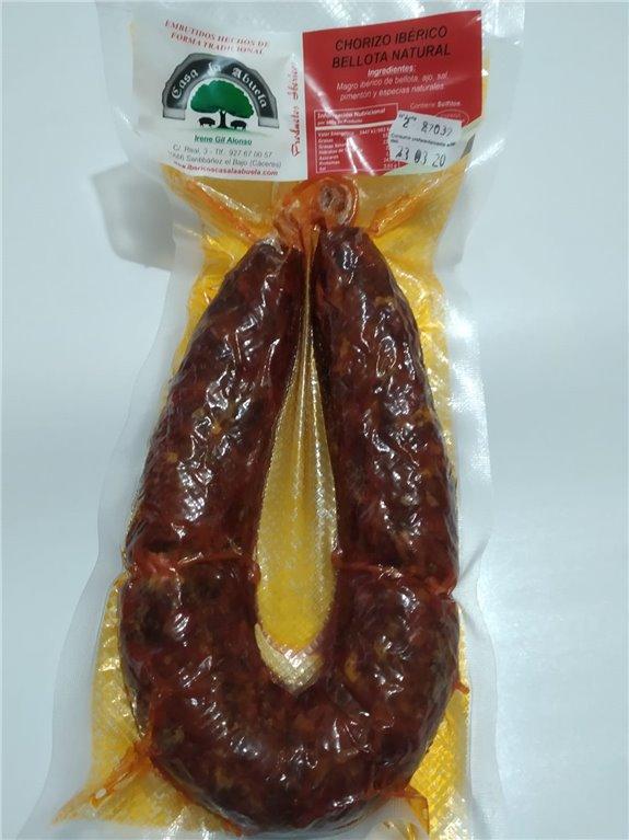 Chorizo ibérico bellota al natural