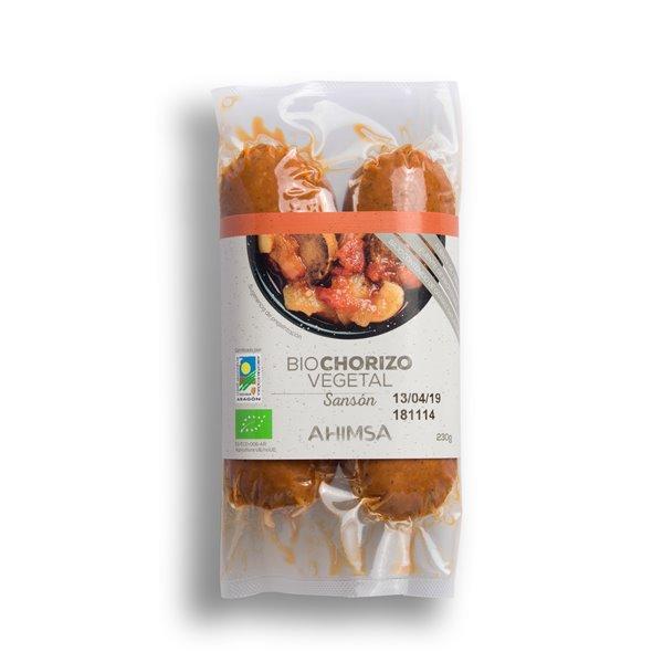 Chorizo Vegetal Sansón Bio Ahimsa, 230 gr