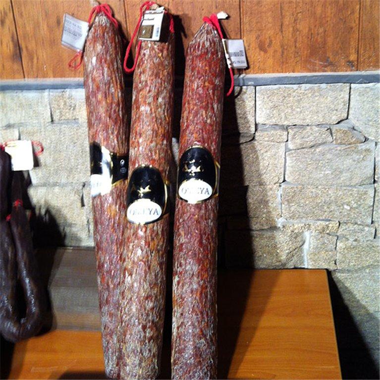 Chorizo vela  Halal 1.9 kg aprox PICANTE.