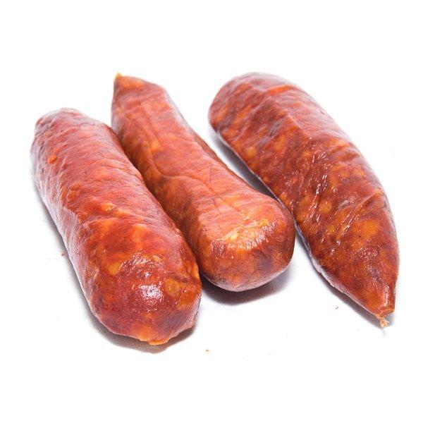 Chorizos asturianos
