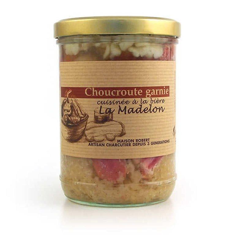 Cooked artisanal sauerkraut