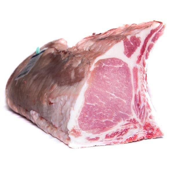 Chuleta de cerdo ibérico