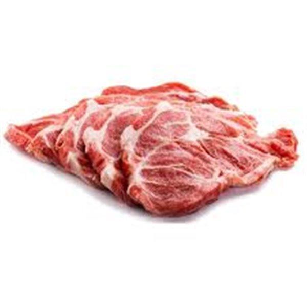 Chuletas de aguja de cerdo (550 gr aprox)