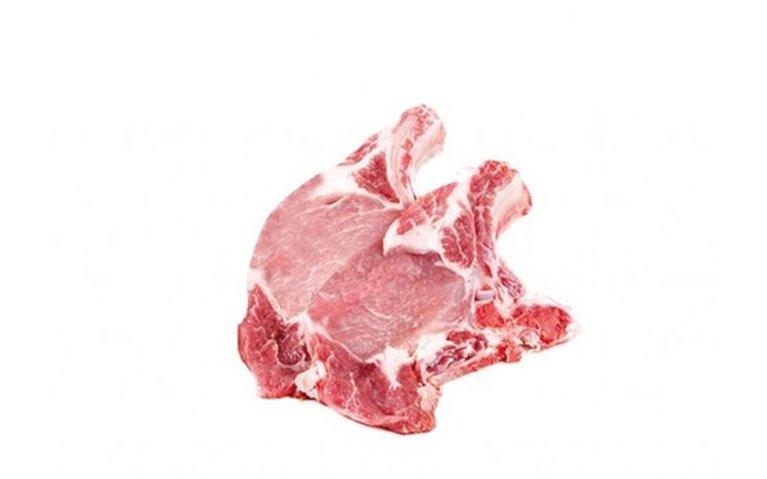 Chuletas de cerdo ibérico (550 gr aprox)