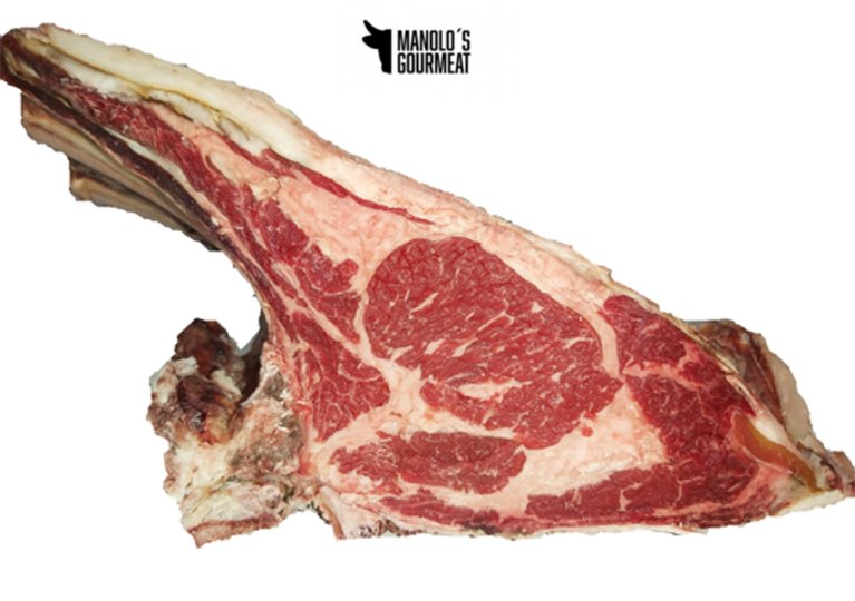 Chuletón lomo alto vaca gallega madurada extra