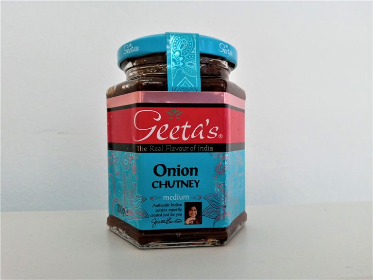 Chutney de Cebolla Geetas