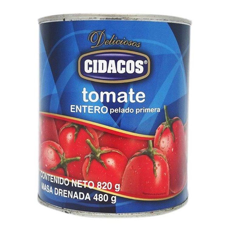 Cidacos - Tomate entero (lata 480 gr)