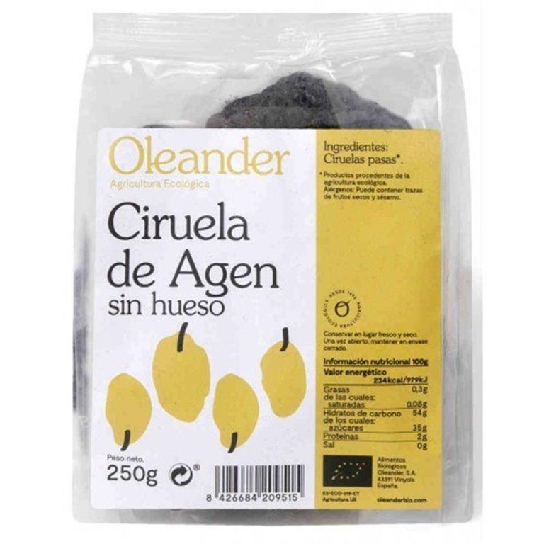 Ciruela Agen sin hueso, 250 gr