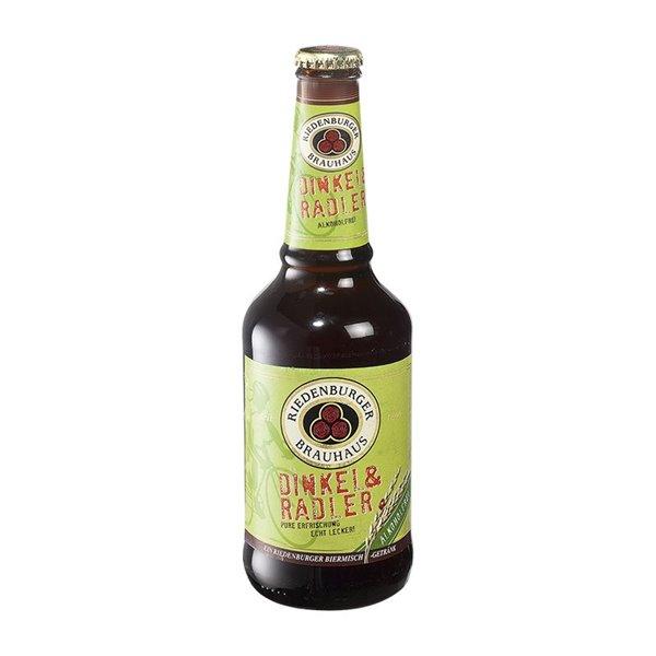 Riedenburger Cerveza Clara de Espelta Sin Alcohol Bio 330ml