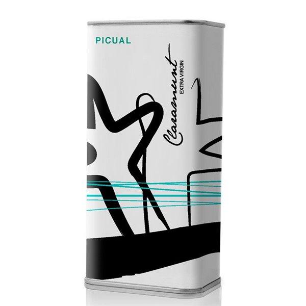 Claramunt. Aceite de Oliva  Picual. Lata 250 ml. Caja de 25 unidades.