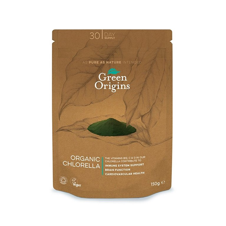 Clorela en polvo bio Green Origins
