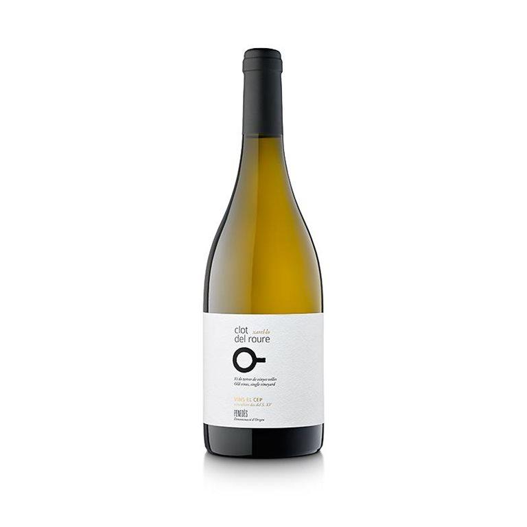 Clot del Roure 2018 vino blanco, biodinámico, vegano