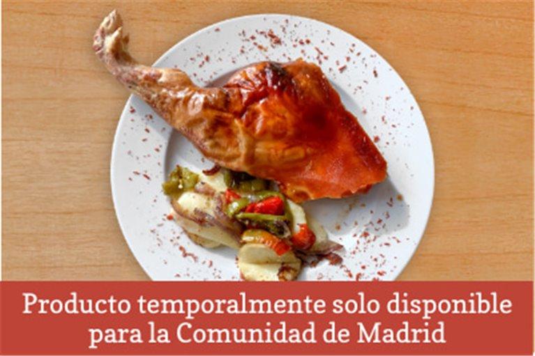 Cochinillo de Segovia asado (350 - 400gr)